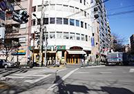 中野駅から事務所までの道のり